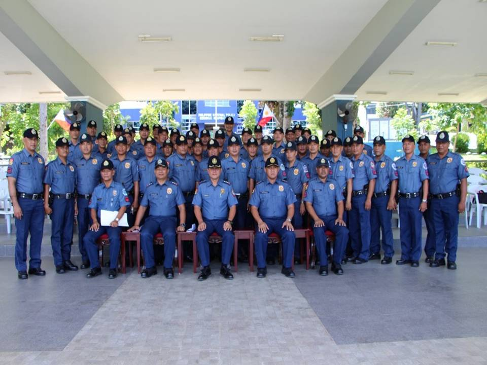 The 282 police trainees turned-over by PSSUPT NICERIO D OBAOB, Chief,RPHRDD to PSUPT EDWARD D QUIJANO, Regional Training Director, RTC8 to undergo a one (1) month FTX Evaluation.